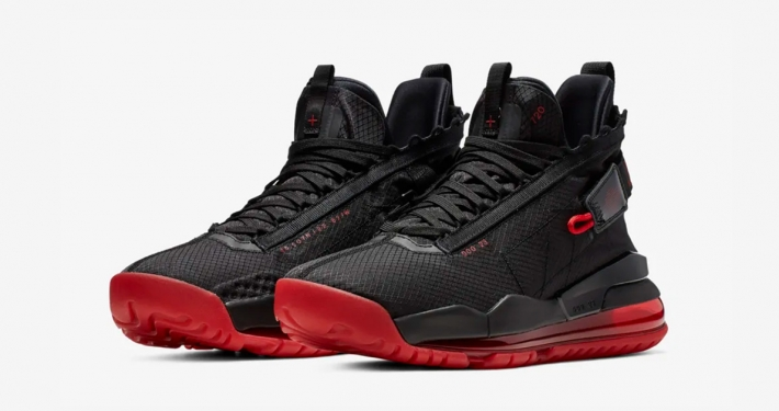 Nike Air Jordan 720 Proto-Max Sort Rød