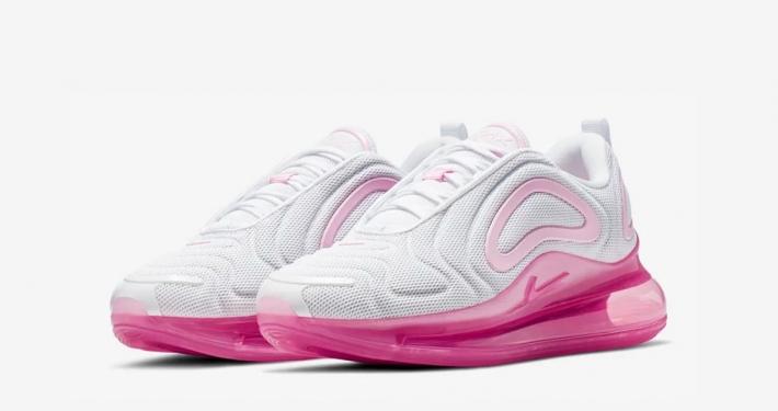 Nike Air Max 720 Pink Rise til Kvinder AR9293-103