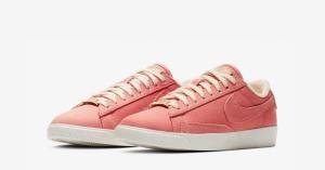Nike Blazer Low Pink Plant Color til Kvinder AV9371-600