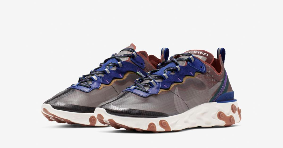 pretty nice 3f3ae a9587 Nike React Element 87 Dusty Peach
