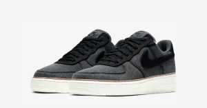 3x1 x Nike Air Force 1 Low Black Denim