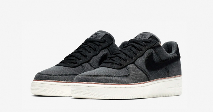 3x1 x Nike Air Force 1 Low Black Denim