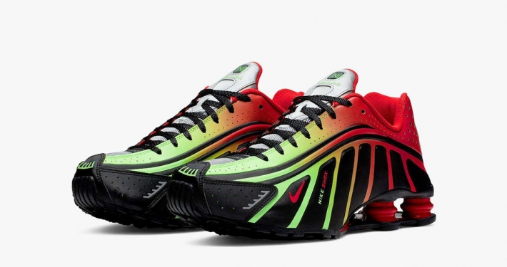 Neymar x Nike Shox R4 Sort Rød