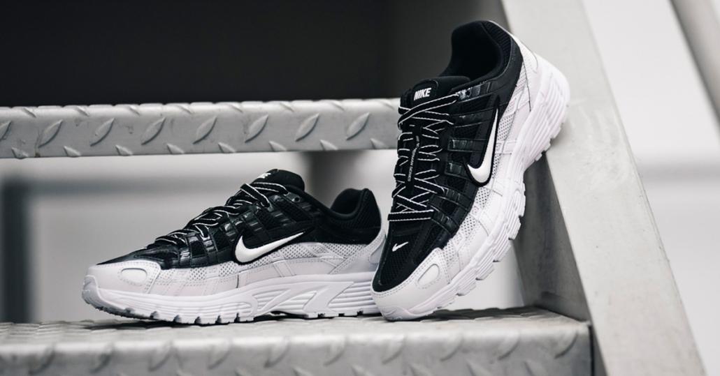 Nike P-6000 Hvid/Sort