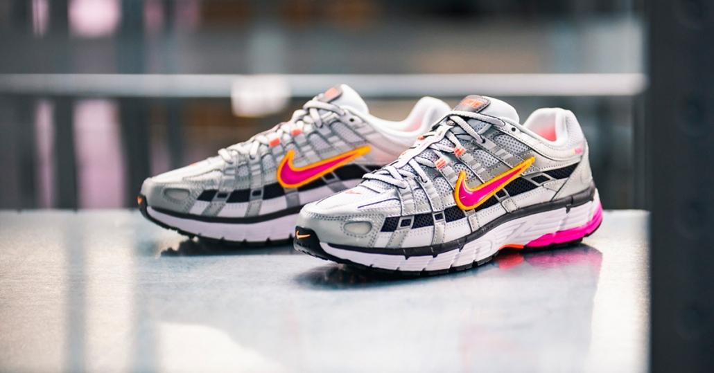 Nike P-6000 silver pink