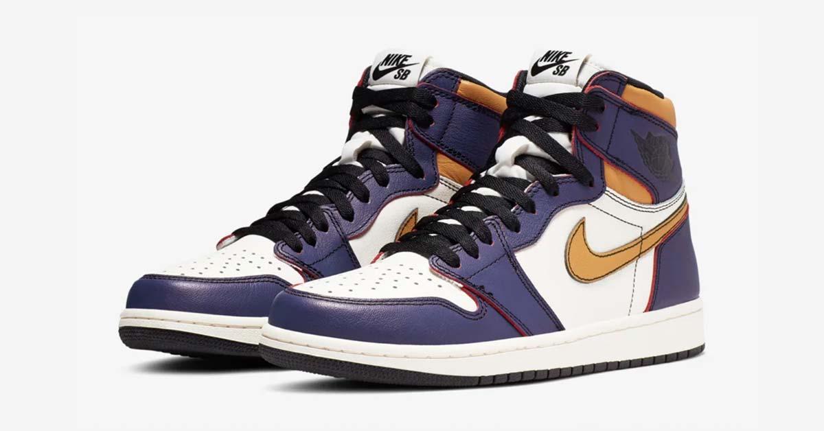 Nike SB Air Jordan 1 High LA to Chicago CD6578-507