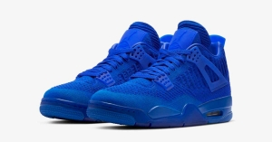 Nike Air Jordan 4 Flyknit Hyper Royal AQ3559-400