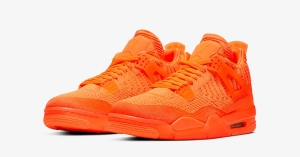 Nike Air Jordan 4 Flyknit Total Orange AQ3559-800