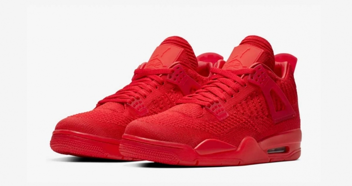 Nike Air Jordan 4 Flyknit University Red AQ3559-600
