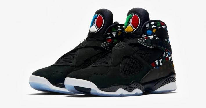 Nike Air Jordan 8 Quai 54