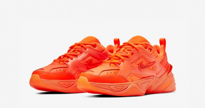 Nike M2K Tekno Orange Burst