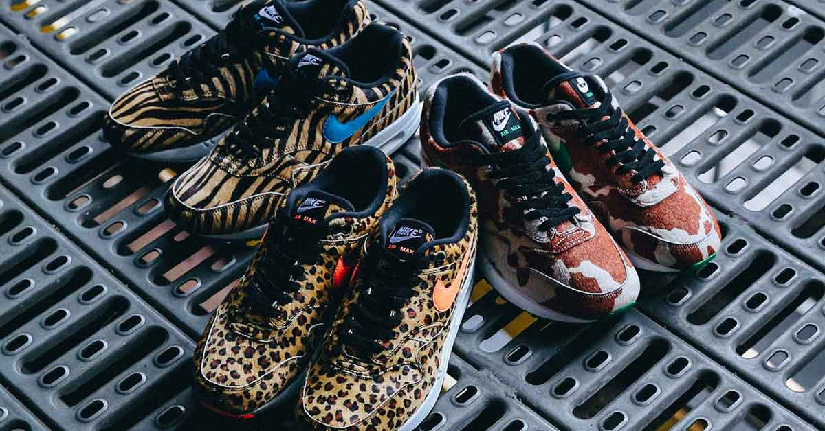 Atmos x Nike Air Max 1 Animal Pack 3.0