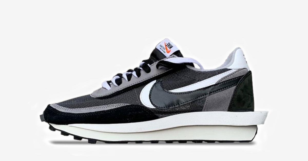 Sacai x Nike LDV Waffle Black BV0073-001