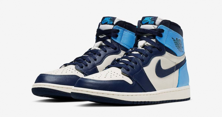 Nike Air Jordan 1 Retro High OG UNC 555088-140