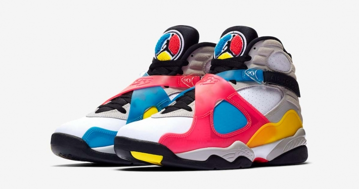 Nike Air Jordan 8 SE Multicolor BQ7666-100