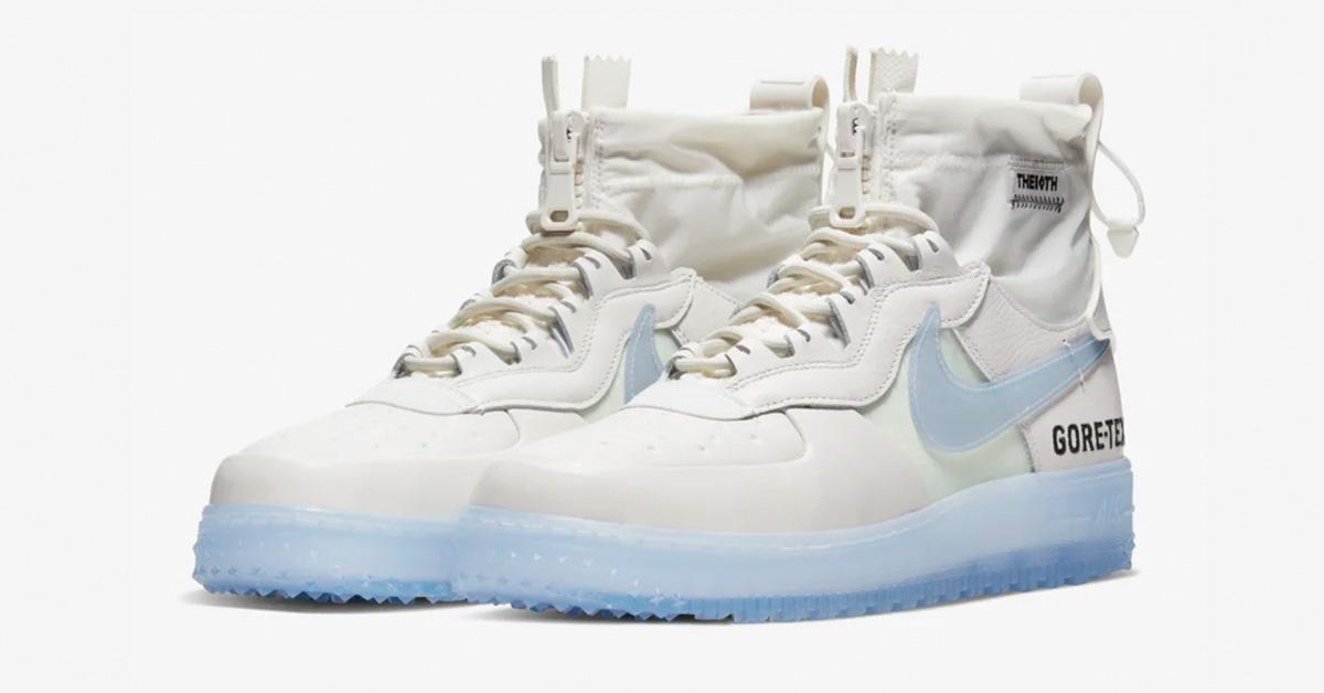 Nike Air Force 1 High Gore Tex Phantom White Cool Sneakers