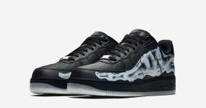 Nike Air Force 1 Low Black Skeleton BQ7541-001