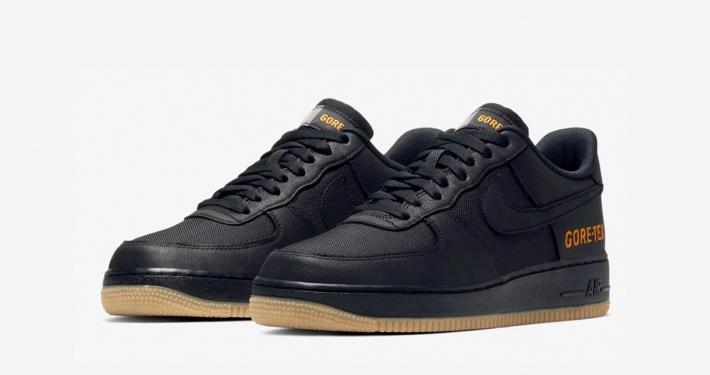 Nike Air Force 1 Low Gore-Tex Sort CK2630-001
