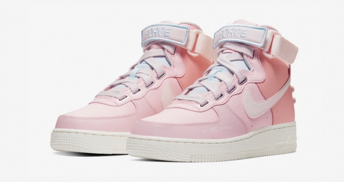 Nike Air Force 1 High Utility Echo Pink til kvinder