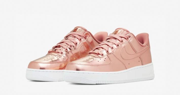 Nike Air Force 1 Low Bronze til kvinder