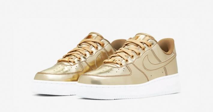 Nike Air Force 1 Low Guld til kvinder