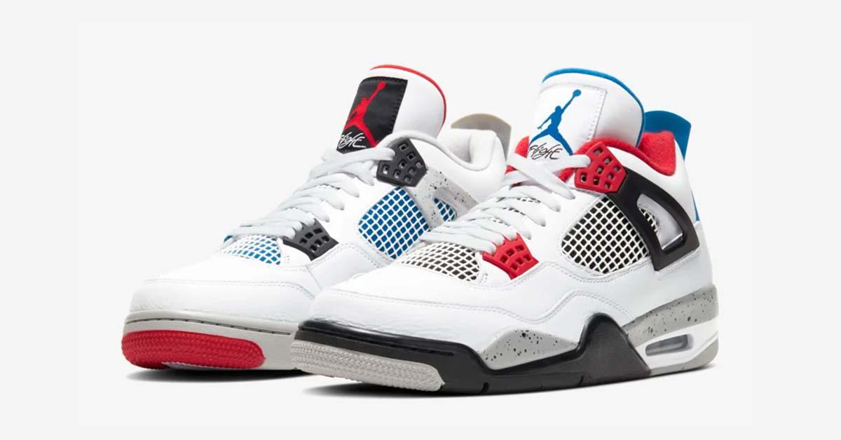 Nike Air Jordan 4 What The CI1184-146