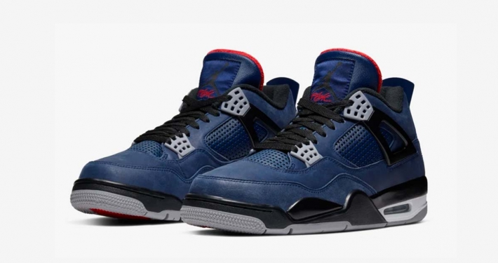 Nike Air Jordan 4 Loyal Blue Winterized CQ9597-401