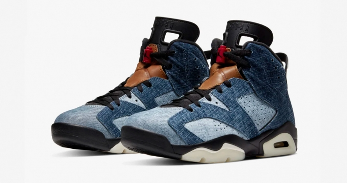 Nike Air Jordan 6 Washed Denim