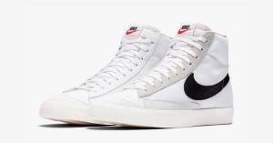 Slam Jam Socialism x Nike Blazer Mid 77 White BQ6806-104
