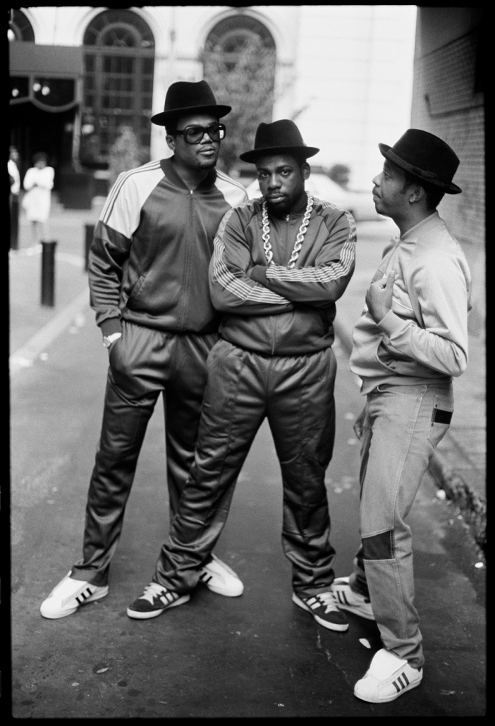 Run DMC i Adidas Superstar i 1980erne