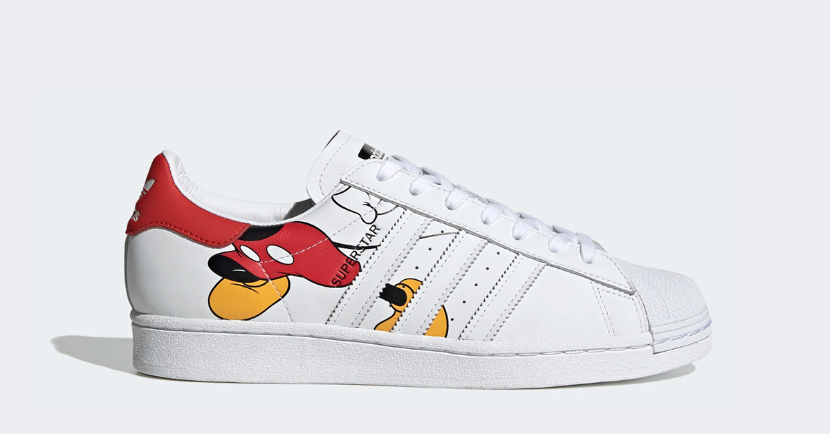 Adidas Superstar Mickey Mouse FW2901