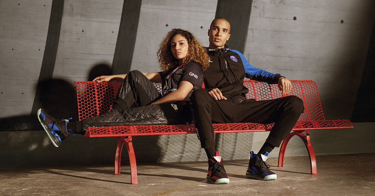 Jordan x Paris Saint-Germain Kollektion 2020