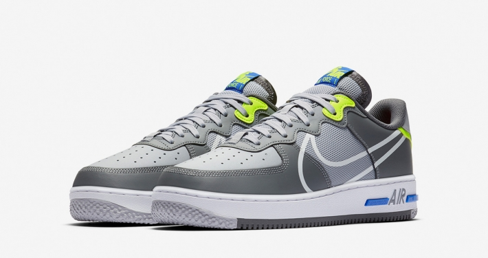 Nike Air Force 1 React D/MS/X Grå