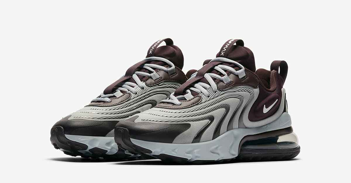 Nike Air Max 270 React Engineered Burgundy CK2595-600