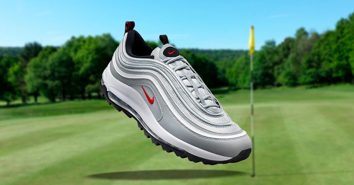 Nike Air Max 97 Silver Bullet Golfsko