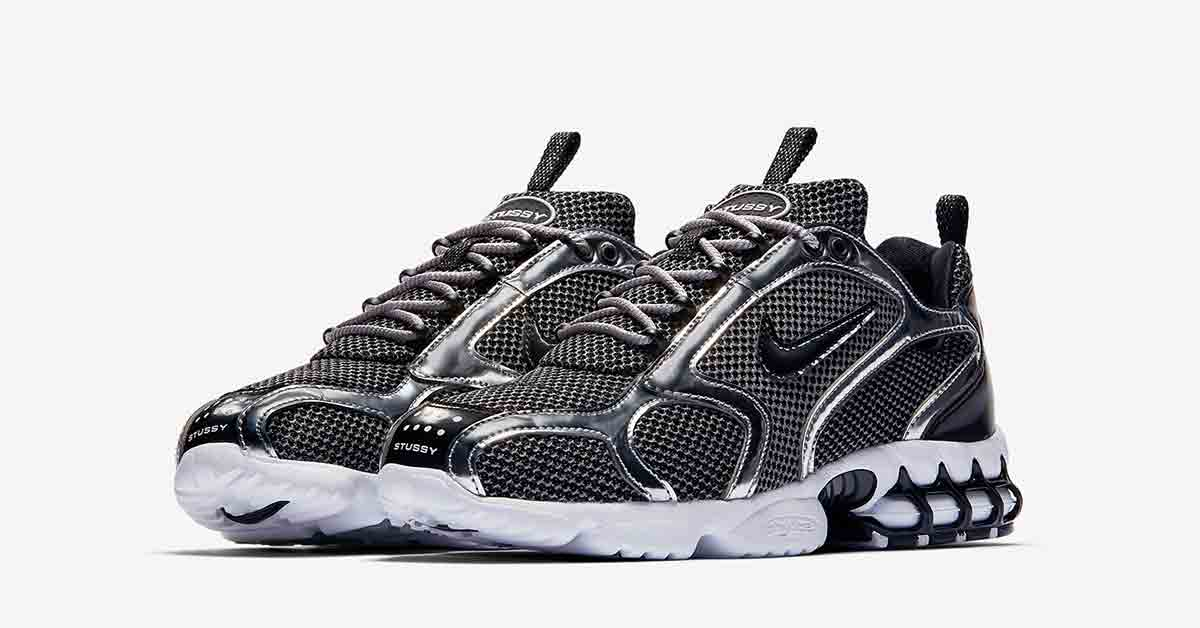 nike air zoom spiridon 16 sort drop