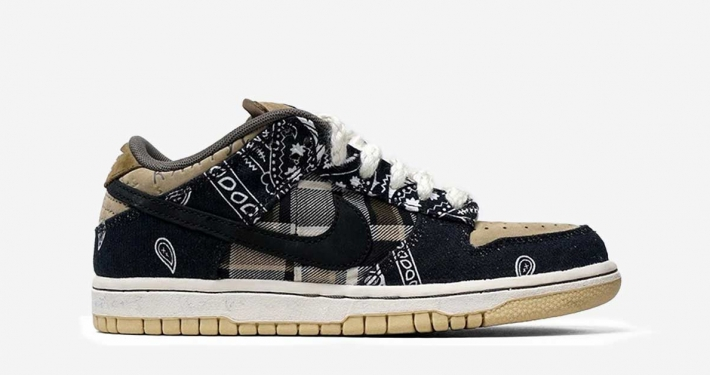 Travis Scott x Nike SB Dunk Low CT5053-001