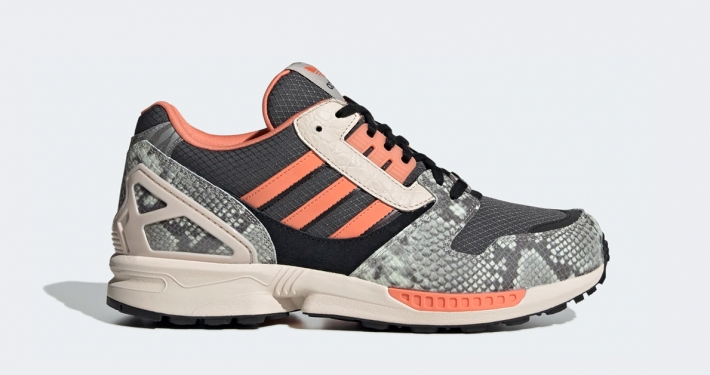 Adidas ZX 8000 Orange Reptil FW9783