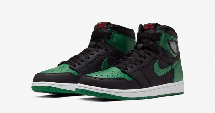 Nike Air Jordan 1 Hi Pine Green 555088-030