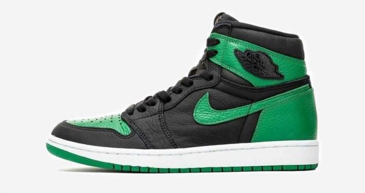 Nike Air Jordan 1 Hi Pine Green 555088-030