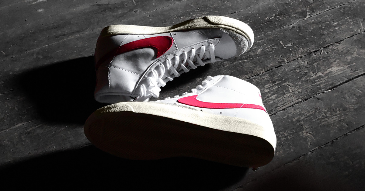 On Foot: Nike Blazer Mid 77 Vintage Brick Red
