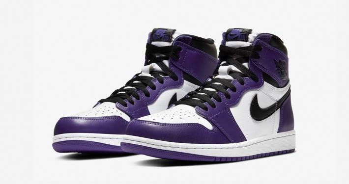 Nike Air Jordan 1 High Lilla