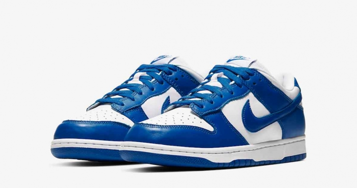 Nike Dunk Low Blå Hvid CU1726-100