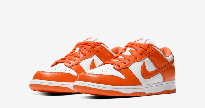Nike Dunk Low Orange Hvid CU1726-101