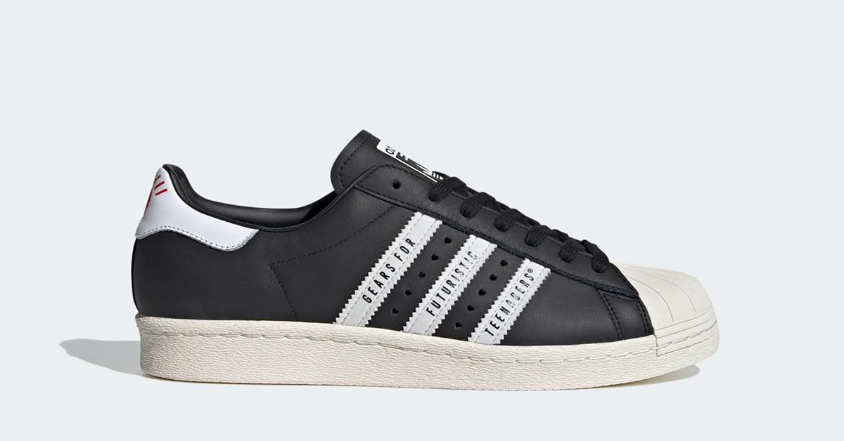 Adidas Superstar Human Made Sort FY0729