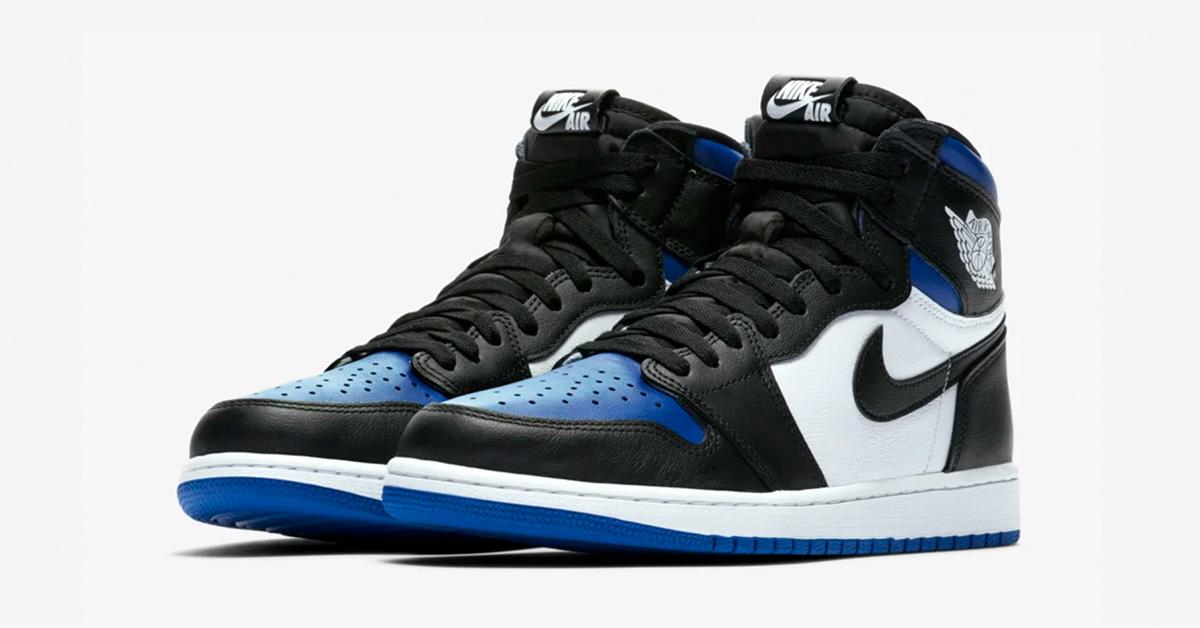 Nike Air Jordan 1 High White Royal