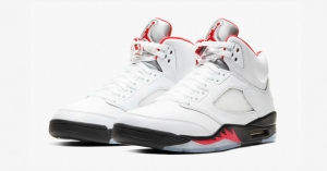Nike Air Jordan 5 Fire Red