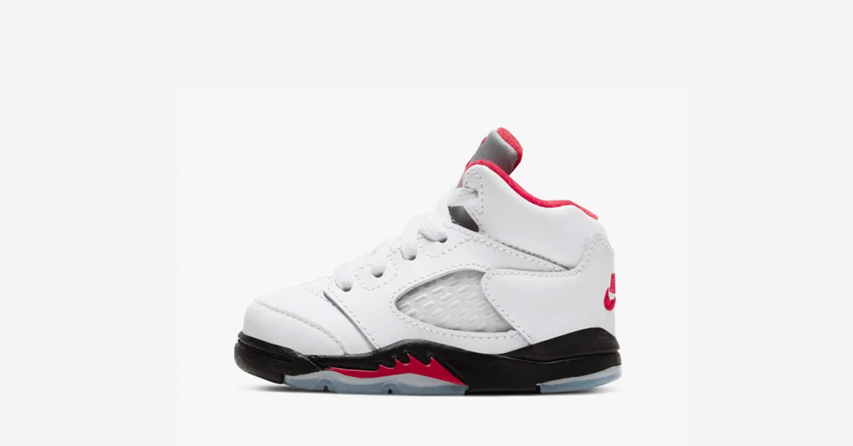 Nike Air Jordan 5 Fire Red Baby