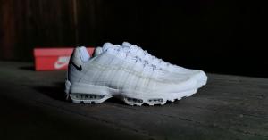 Hvide Nike Air Max 95
