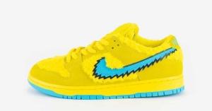Grateful Dead x Nike SB Dunk Gul CJ5378-700